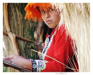 O fata din Peru